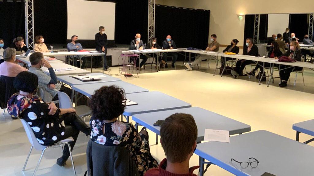 1ère réunion collectif – élus